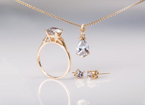 Produktfoto Schmuck Set Diamant