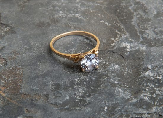 Schmuckfotografie Ring Diamant